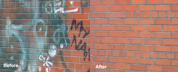 Graffiti & Rust Removal