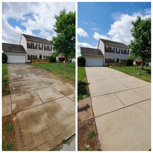 Concrete Cleaning by Clean Home Power Washing