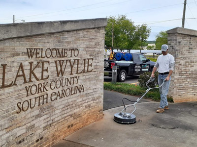 Pressure Washing in Lake Wylie SC